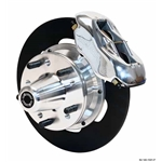 Wilwood 140-1501-P FDL Front Drag Brake Kit, 1937-48 Ford Car, Polished