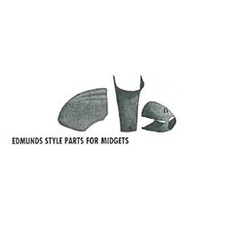 Edmunds Style Midget Fiberglass Hood