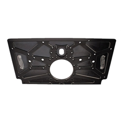 Black Rear Motorplate