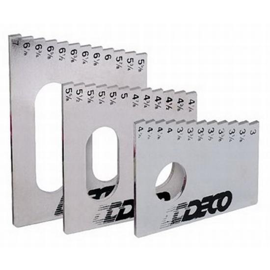 DECO Frame Height Gauge Tool, Set/3