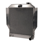 AFCO 1942-48 Ford Aluminum Radiator, Chevy Engine