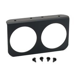Auto Meter 3232 2-Hole Aluminum Gauge Panel Mount, 2-5/8 Inch