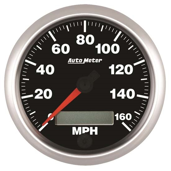 Auto Meter 5688 Elite Air-Core Speedometer Gauge, 3-3/8 Inch
