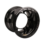 Bassett 50SR65L 15X10 Wide-5 6.5 Inch BS Black Beadlock Wheel