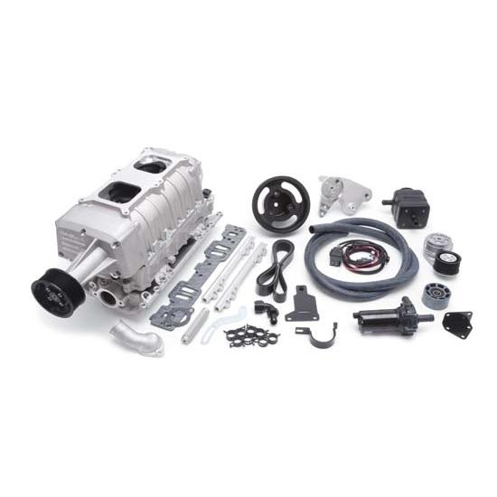 Roots Supercharger Kits: Edelbrock 1522 E-Force EFI Supercharger System Kit, Satin