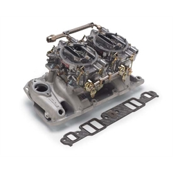 Edelbrock 2025 RPM Air-Gap Dual-Quad Intake Manifold/Carburetor Kit