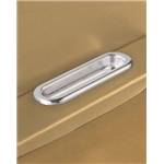 Lokar IDP-2005 Polished Billet Arm Rest Door Pulls, Pair