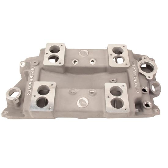 Offenhauser 5024-3B Four Carburetor Pacesetter Intake