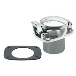 Speedway Small Cobra-Style Fuel Filler Neck Gas Cap