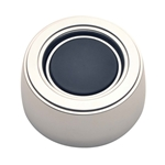 "GT Performance 11-1500 GT3 Hi-Rise Plain Horn Button, ""No Logo"" Polished"