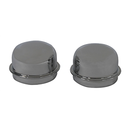 Wheel Dust Caps, Chrome, 1.786 Hub I.D.