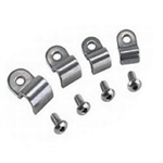 Stainless Steel Single Brake Line Tube Clamps