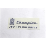 Garage Sale - Murray Full Side Champion Jet Flow Graphic, Blue