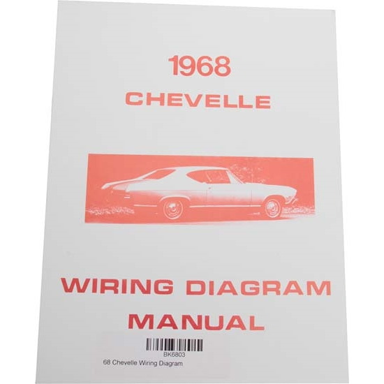 Jim Osborn MP0095 1968 Chevelle Wiring Diagrams