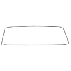 Original Parts Group C990163 Rear Window Molding Trim, 68-72 Chevelle