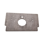 Steel Long Rear Motorplate for Sprint Racing Small Block Chevy