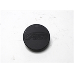 Garage Sale - AFCO 80094B Black Billet Aluminum Radiator Cap with Logo