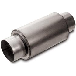 Dynatech® 776-06302 Split Flow Race Muffler, 3 Inch Inlet/Outlet