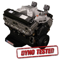 GM 19318604 CT400 GM-Sealed 604 Chevy Crate Engine, Dyno Tested