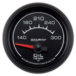 Auto Meter 5948 ES Air-Core Oil Temperature Gauge, 2-1/16 Inch