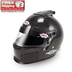 Bell HP Star Infusion Carbon Fiber Racing Helmet, Advanced Series