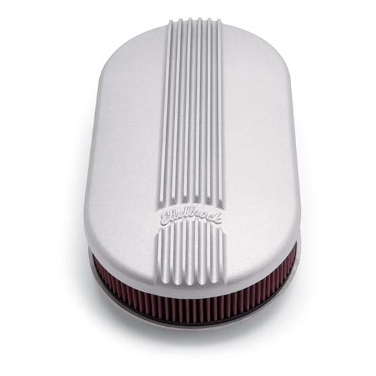 Classic Air Cleaners : Edelbrock classic series air cleaner assembly oval