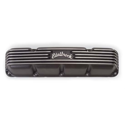 Edelbrock 41993 Classic Series Valve Cover Set, Cast Aluminum, AMC