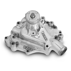 Weiand 8209P Action +Plus Polished Aluminum Water Pump Ford 351C, 351M
