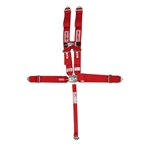 Simpson 5-Point Harness With Sternum Protector, Bolt-In, Pull Up