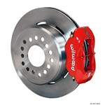 Wilwood 140-10767-R FDL Rear Brake Kit, Mopar/Dana 2.50 Off, Snap Ring