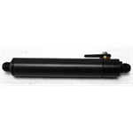 Garage Sale - Black Fuel Filter with Shut-Off, 10 Inch, -12 AN