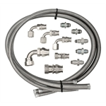 Billet Specialties 77900 Power Steering Hose Kit for Remote Reservoir
