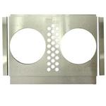 Electric Fan Shroud, 25-28 In Tank-to-Tank x 17-20 In, 10 In Fan Holes