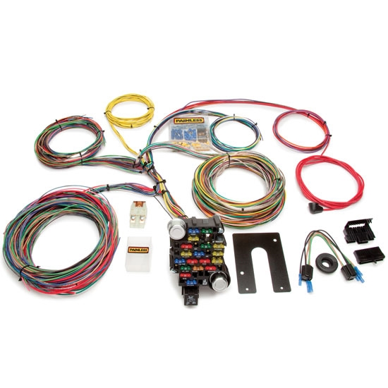 new painless wiring 10202 28 circuit universal wire harness gm non keyed column ebay