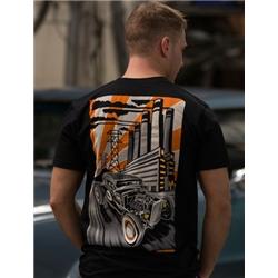 MAX GRUNDY Voltage Highway T-Shirt, Black
