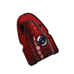 1954 Chevy Taillight Lens with Blue Dot, Red Plastic