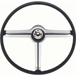 OER 9747536 Deluxe Steering Wheel, Black, 1968 Camaro/Nova/Chevelle