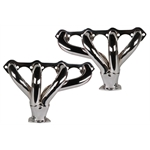 Small Block Ford, Block Hugger Tight-Fit Headers, Chrome