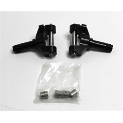 Garage Sale - Stallard Chassis BC103-120-10 Forged Aluminum Micro Spindle Pair w/ King Pins