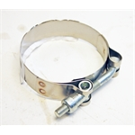 """Garage Sale - Dynatech   Stainless Steel 2.25"""" Clamp"""