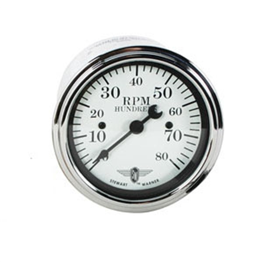 Garage sale stewart warner individual electric for Tachometer for electric motor