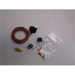 Garage Sale - Spal Thermoswitch Relay And Wiring Harness Kit, 185 Degree
