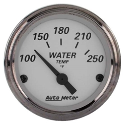Garage Sale - Auto Meter 1938 American Platinum Air-Core Water Temperature Gauge