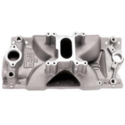 Edelbrock 2901 Victor Jr Sportsman 2V Chevy Small Block Manifold