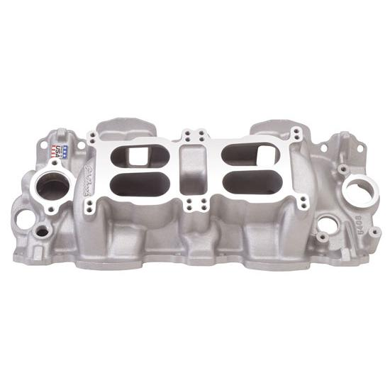 Edelbrock 5408 348/409 Dual Quad Intake Intake, Small Port