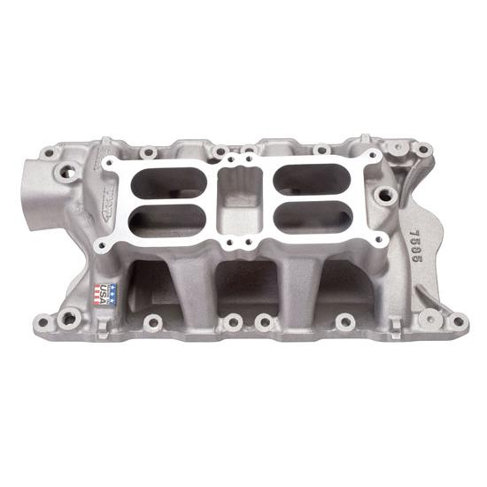 Edelbrock 7585 351W Ford Dual Quad Intake Manifold