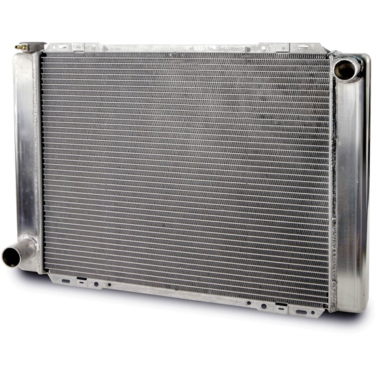 AFCO 80101FN Universal Fit Racing Radiator, 27-1/2 Inch Ford/Mopar