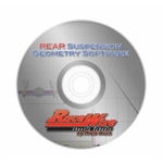 Racewise Suspension Geometry Software, Rear Suspension