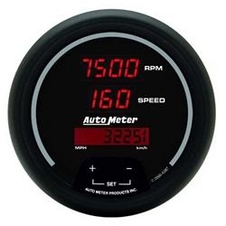 Auto Meter 6387 Sport-Comp Digital Digital Tach/Speedometer Gauge