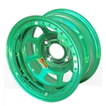 Aero 33-984020GRN 33 Series 13x8 Wheel, Lite, 4 on 4 BP, 2 Inch BS